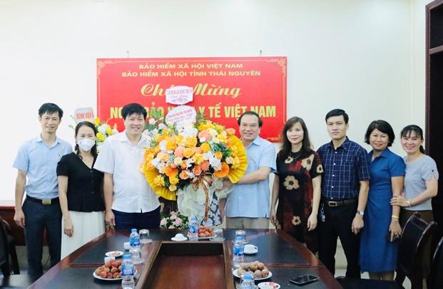 Chúc mừng BHXH tỉnh Ngày Bảo hiểm Y tế Việt Nam