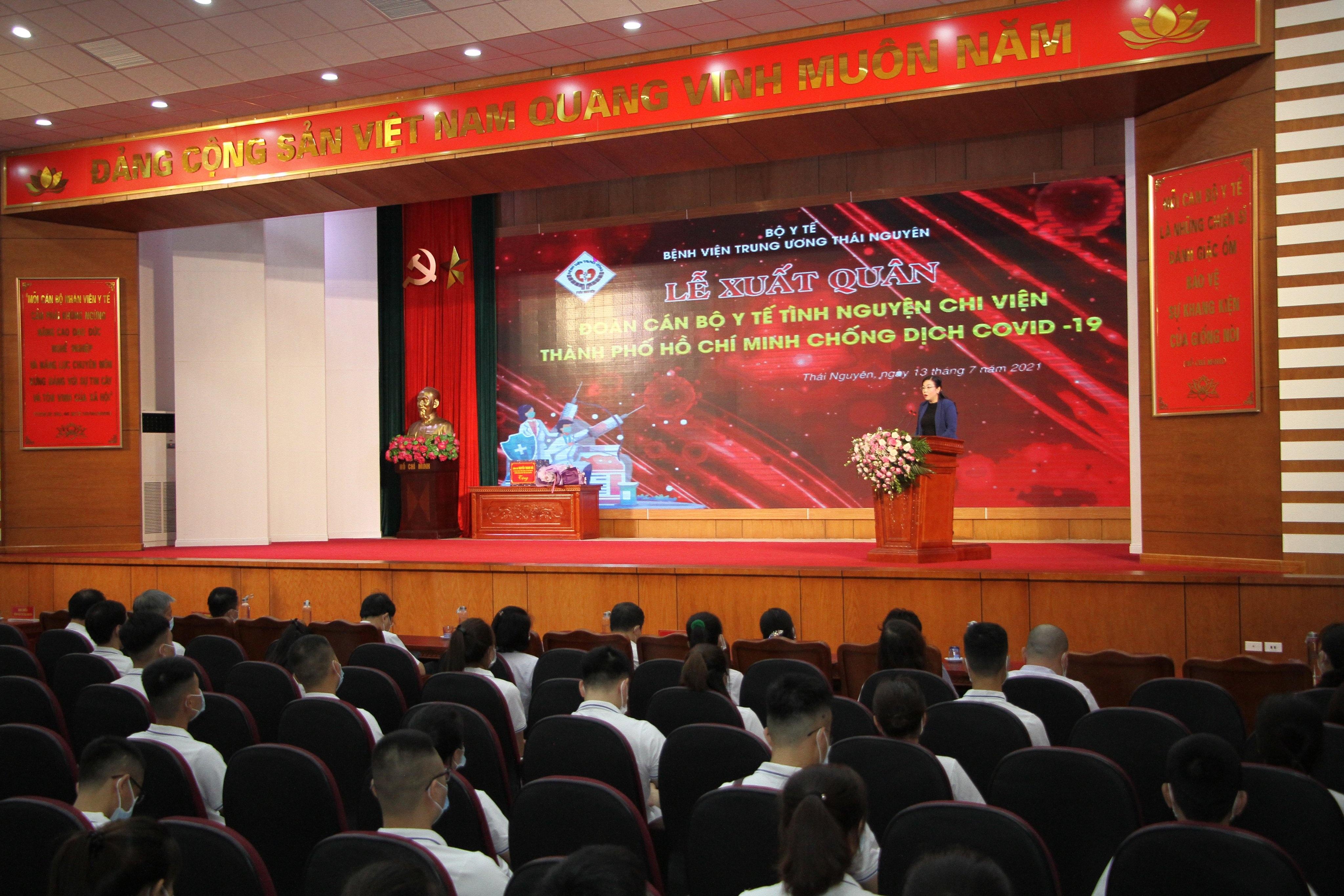 Chi viện 79 y, bác sĩ hỗ trợ thành phố Hồ Chí Minh chống dịch COVID-19