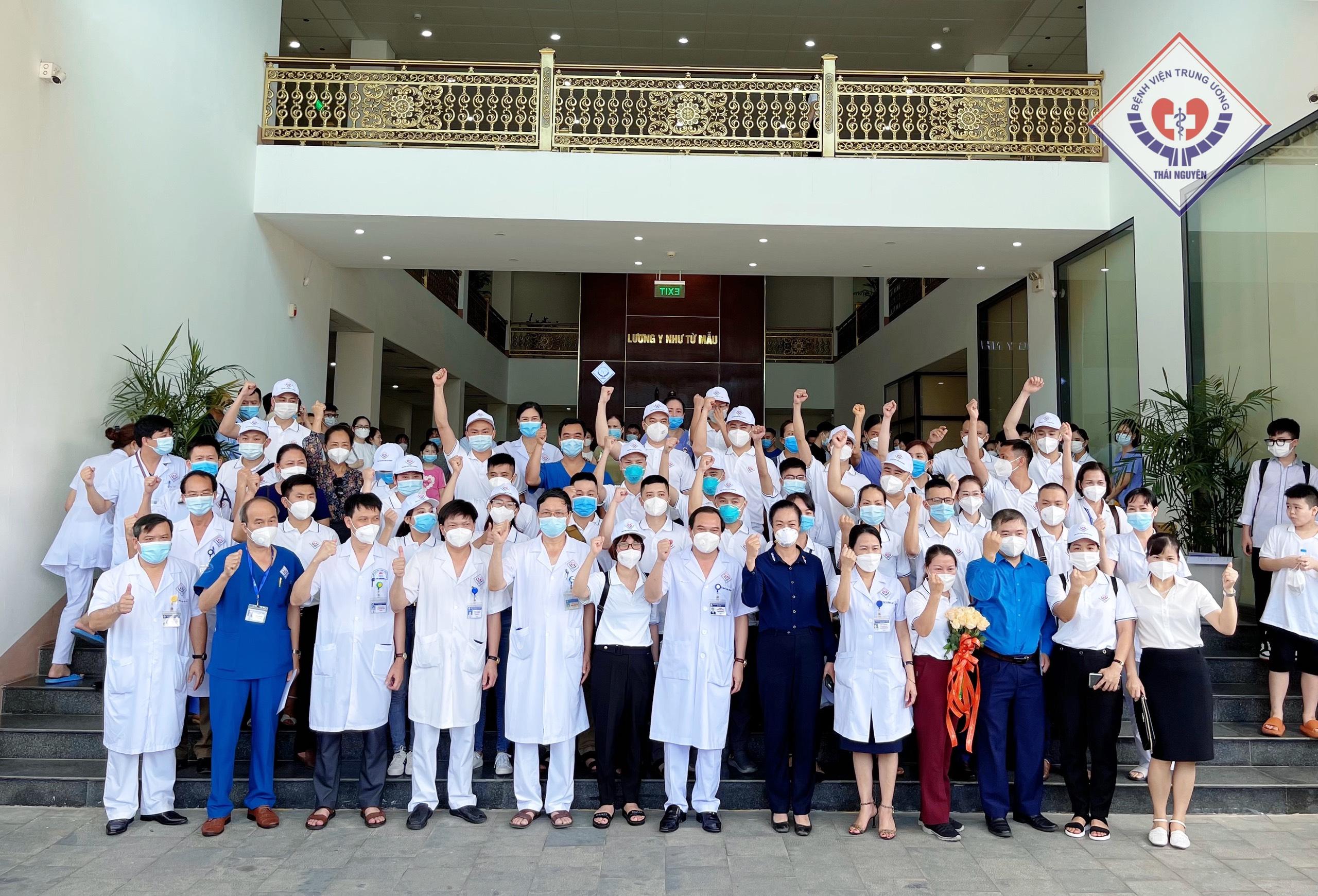 Bệnh viện Trung ương Thái Nguyên: Lần thứ 3 liên tiếp chi viện miền Nam chống dịch
