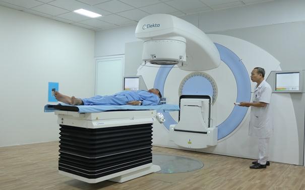 Bệnh viện Trung ương Thái Nguyên đưa vào sử dụng hệ thống xạ trị gia tốc điều trị ung thư hiện đại