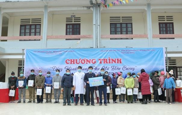 Khám bệnh, tặng quà và cấp thuốc miễn phí cho 140 hộ nghèo