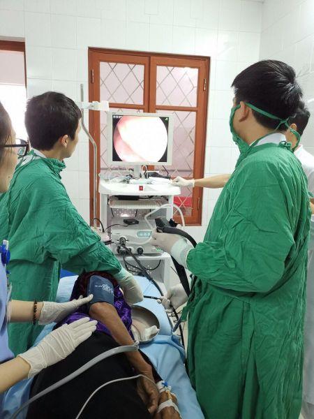 Triển khai nhiều kỹ thuật qua Máy nội soi tiêu hóa và siêu âm ổ bụng