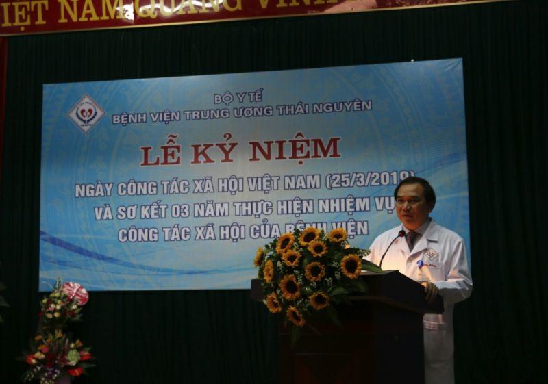 Lễ kỷ niệm ngày Công tác xã hội Việt Nam và sơ kết 03 năm thực hiện Công tác xã hội tại Bệnh Viện